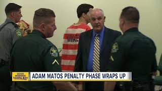 Adam Matos: Jury to decide whether or not convicted quadruple murderer will receive death penalty