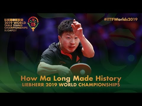 Ma Long Vs Mattias Falck | 2019 World Championships | русские комментарии
