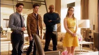 Шутка про канал CW | Супергёрл (1 сезон 18 серия)
