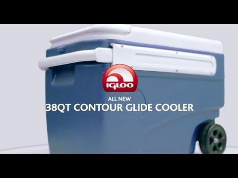 Igloo Coolers 38 Quart Contour Glide A Classic Wheeled