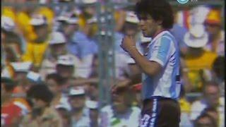 Argentina enfrenta a Italia en el Mundial de España, 1982