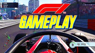 F1 & F2 2019 Career Mode Gameplay l Monaco Highlights Grand Prix