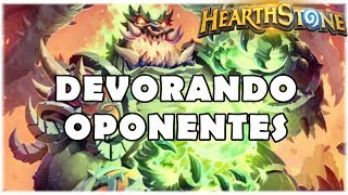 HEARTHSTONE - DEVORANDO OPONENTES! (STANDARD CONTROL WARLOCK)