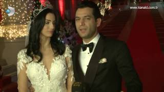Renkli Sayfalar - Murat Yıldırım ve Imane Elbani çiftinin düğününden özel görüntüler!