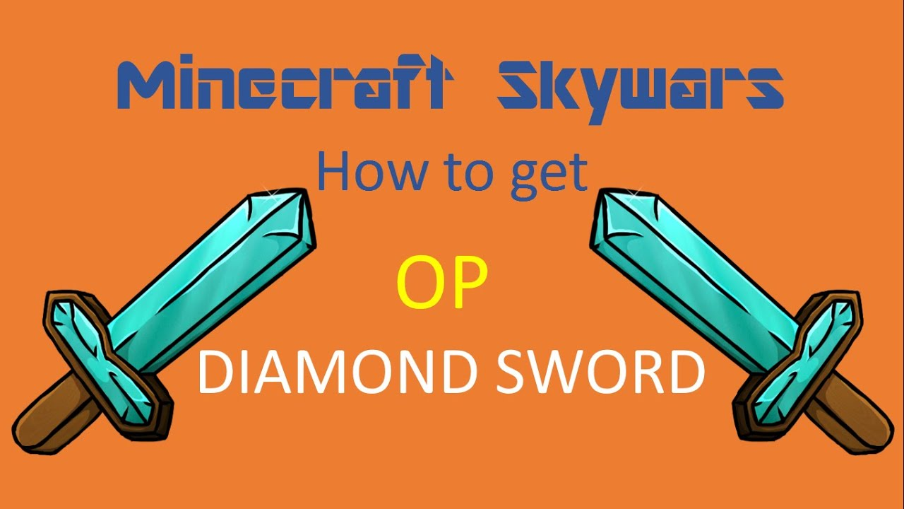 how to get op sword minecraft