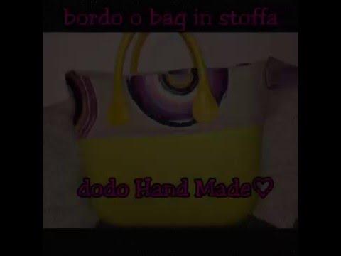 Bordo o bag in stoffa tutorial fai da te youtube for Fai da te youtube