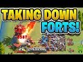 """HOW TO SUPPORT RALLYS TO TAKE DOWN LEVEL 4 FORTS! - """"Rise of Civilizations"""""""
