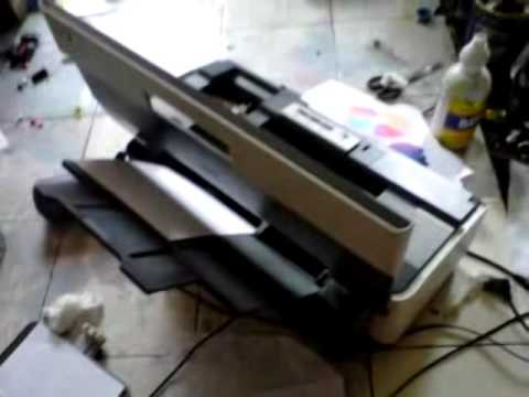 Printer Epson L 210 Hasil Print Putus Putus Youtube