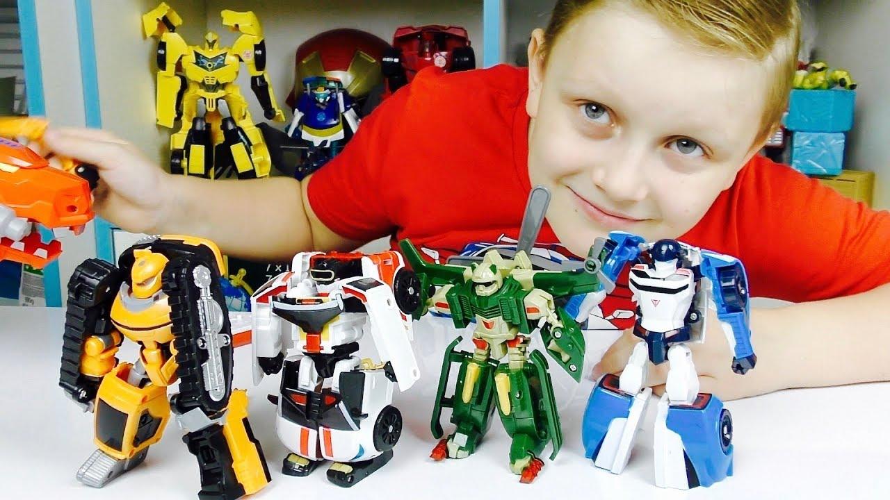ТОБОТЫ Машинки Роботы Трансформеры Для детей Из Мультика