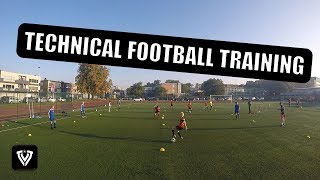 TECHNICAL FOOTBALL TRAINING - EASY SET-UP