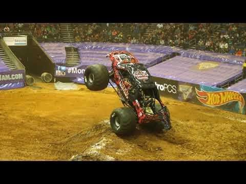 Monster Jam Charlotte Highlights - Arena Tour - Jan 5-6, 2018