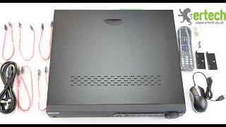 HIKVISION DS-7332HUHI-K4 vidéo