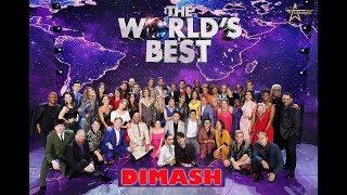 """видео: ДИМАШ 1-й ТУР полное выступление """"THE WORLD'S BEST"""" DIMASH  All Performance"""