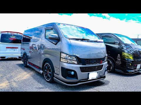 (HD)BODYLINE NV350 Modified NISSAN URVAN VIPSTYLE ボディラインNV350カスタム - SBM大阪2018