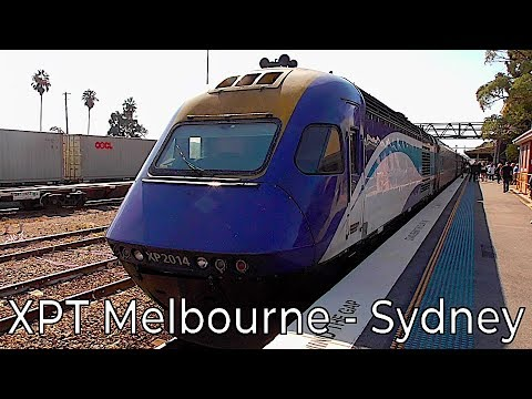 NSW Trainlink XPT Melbourne To Sydney Trip Review