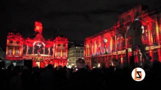 Fête des lumières 2015, Lyon, Place des Terreaux
