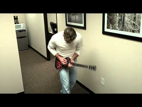 Jason Fry of Fry Daddy Films just playing a little guitar in the office.