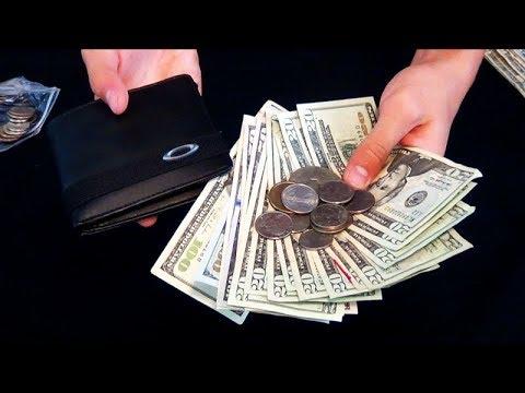 ASMR Relaxing Money/Coin Sounds $$$ - Binaural