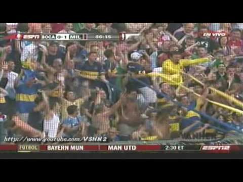 Boca Juniors vs AC Milan 1-1 (Penales 5-4) Audi Cup Highlights