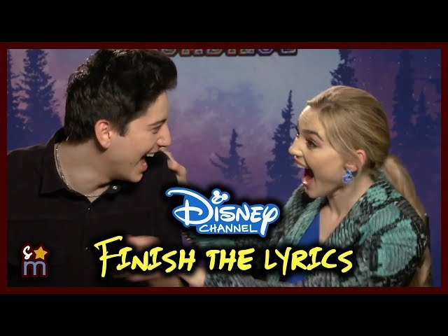 Finish the Disney Channel Lyrics Challenge with ZOMBIES 2 Cast
