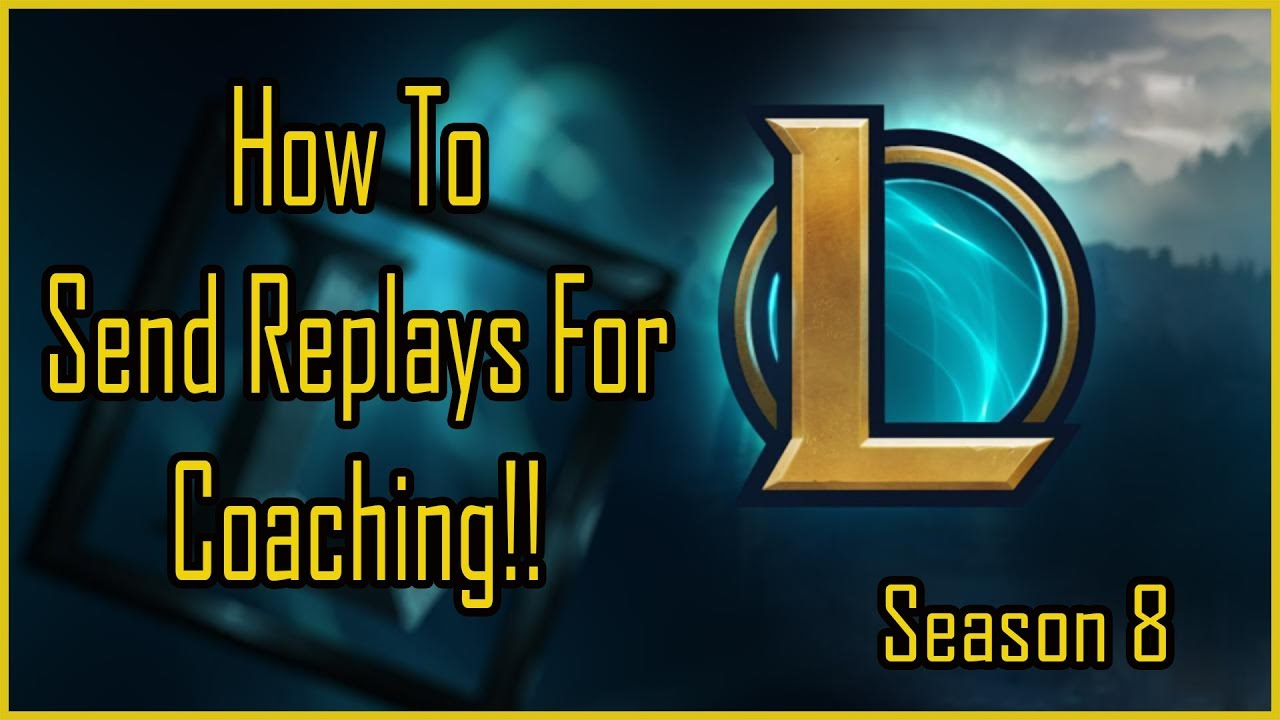 How To Send Me Replays For Jax Coaching | League Of Legends