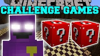 minecraft purple man challenge games lucky block mod modded mini game