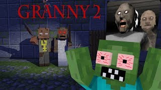 Monster School: GRANNY 2 HORROR GAME CHALLENGE