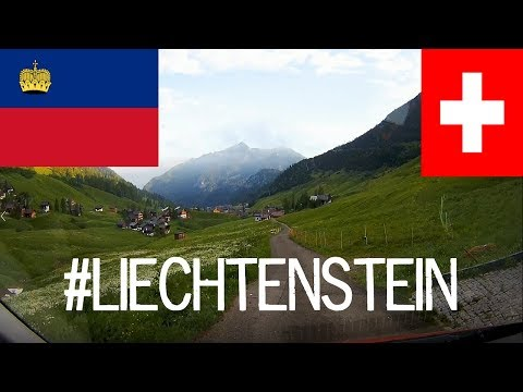 Driving in Liechtenstein (Road Trip to Cannes 2018)