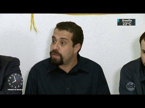 Guilherme Boulos depõe sobre ocupação em tríplex do Guarujá | SBT Brasil (07/06/18)