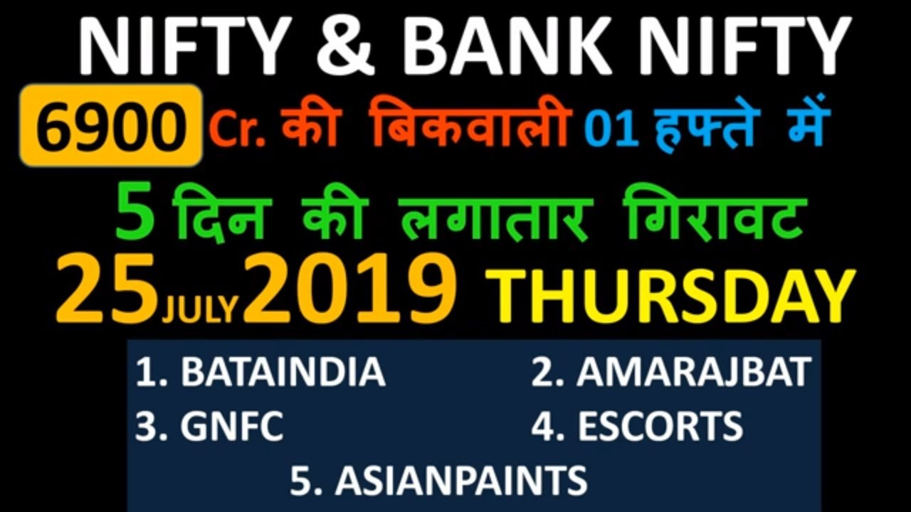 #25 July 19 #Nifty/Bank nifty OPTION TRADING ||