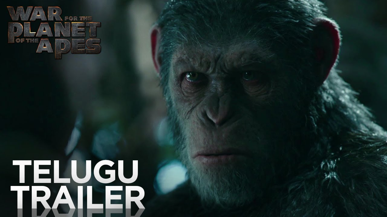 Download War for the Planet of the Apes   Official Telugu Trailer   Fox Star India   July 14
