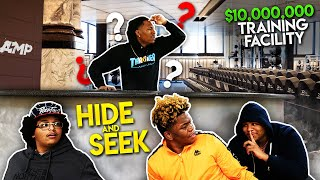 AMP HIDE AND SEEK IN 10 MILLION DOLLAR TRAINING FACILITY