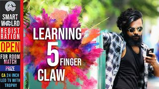 🔴LEARNING 5 FINGER CLAW |THAADI GAMING | PUBG MOBILE🔴
