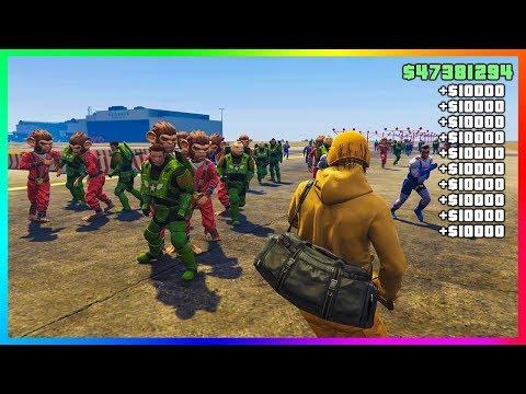 (NEW) BEST ACTIVITÉ ARGENT INFINI - GTA 5 Online Modded Money Job