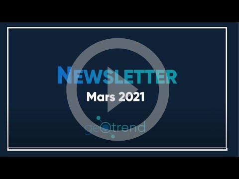 #3 Newsletter de mars
