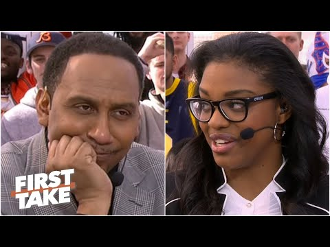 Diamond DeShields takes a shot at Coach Stephen A. and his All-Star team | First Take