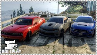 GTA 5 ROLEPLAY - American Muscle Car Cruise | Ep. 170 Civ