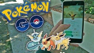 EEVEE: TRUCO DE EVOLUCION! Pokemon GO - [LuzuGames]