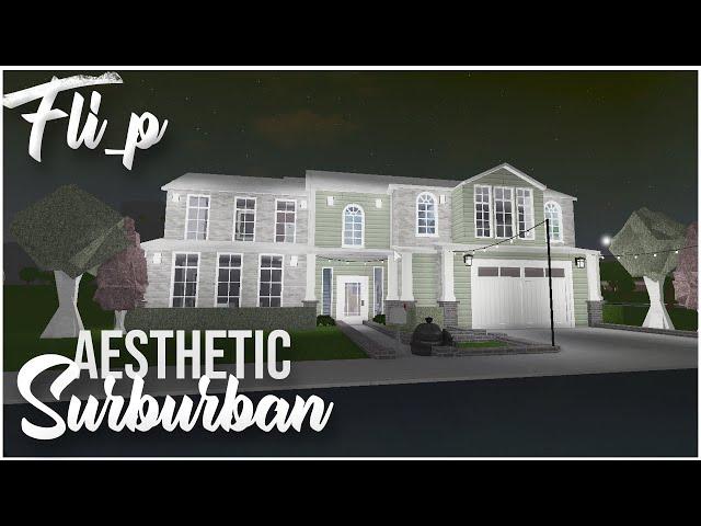 Aesthetic Suburban House 58K |Bloxburg
