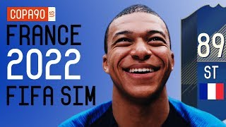 FIFA SIM: France World Cup Squad 2022