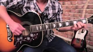 """Como tocar """"Eres"""" de Cafe Tacuba - Tutorial Guitarra + TAB (HD)"""
