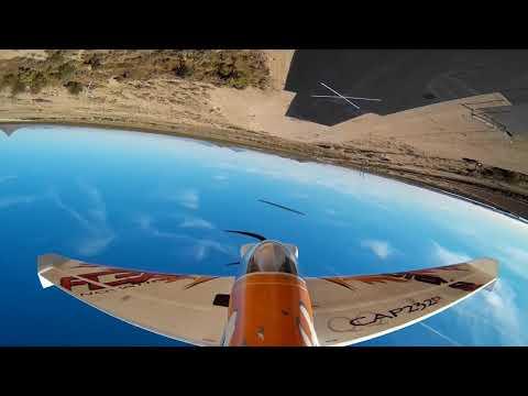 Stan Flying CAP 232 at Sun Lakes AZ