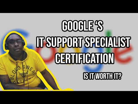 Google IT Support Professional Certificate Review [My Experience] – IS IT WORTH IT!