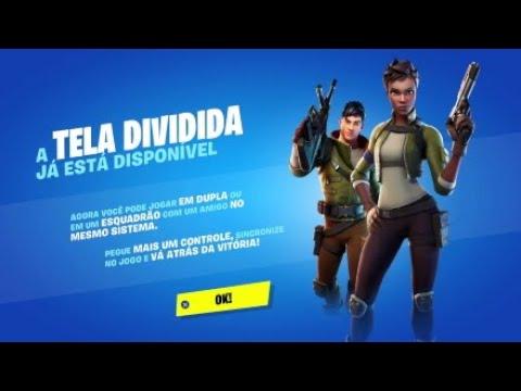 Como Usar Tela Dividida No Fortnite - Jogar 2 Player No PS4 Na Mesma Tela