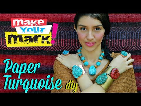 How to: Paper Turquoise