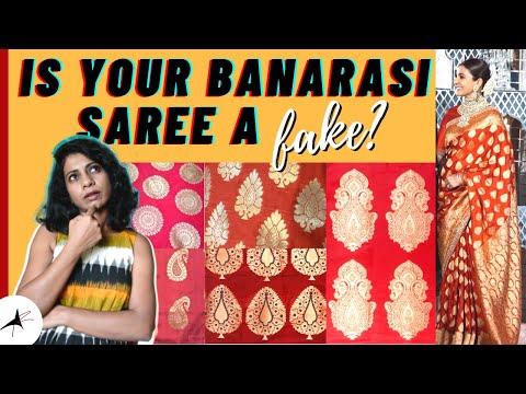 HOW TO IDENTIFY ORIGINAL BANARASI SILK SAREE (With Pictures) | Arpitharai