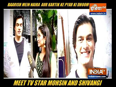 Mohsin Khan, Shivangi Joshi on shooting for Yeh Rishta Kya Kehlata Hai amid new normal