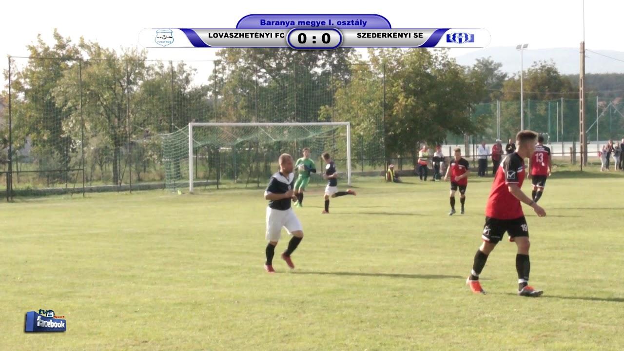 LOVÁSZHETÉNYI FC - SZEDERKÉNYI SE     1 - 2 (0 - 0)