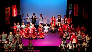 French International School P3 goes Glee 2012 part