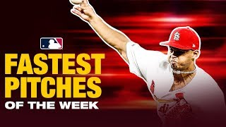 Fastest Pitches of the Week